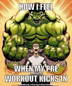 Hulk preworkout